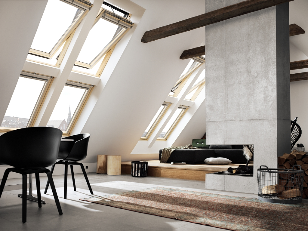 fen tre de toit velux installation velux le mans ng services. Black Bedroom Furniture Sets. Home Design Ideas