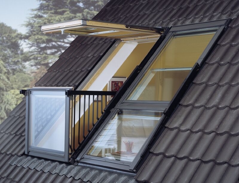 fen tre de toit balcon velux installation velux le mans. Black Bedroom Furniture Sets. Home Design Ideas