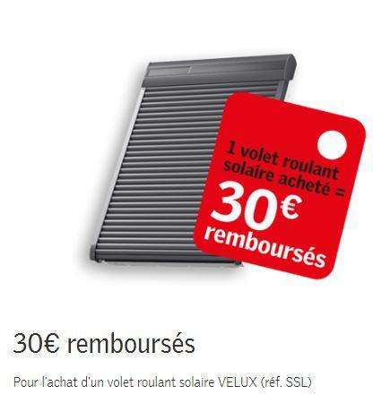 Promotion* Volet Roulant Solaire Velux - Installation Velux Le