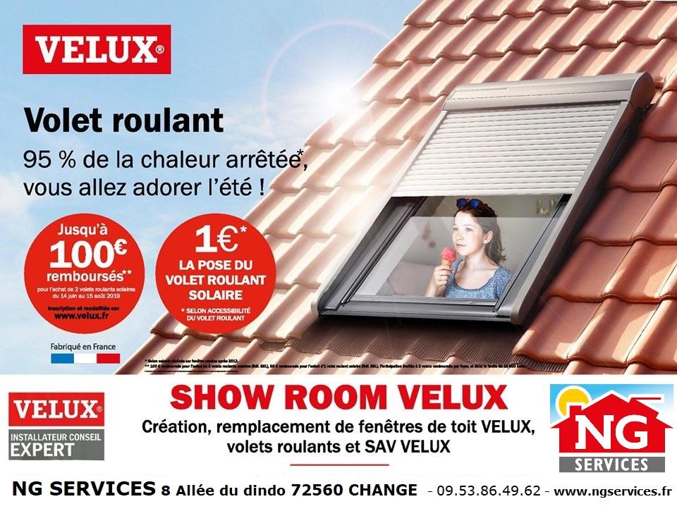 Promo Velux Volet Roulant Solaire Le Mans Sarthe Installation