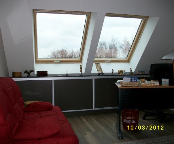 am nagement combles installation velux le mans ng services. Black Bedroom Furniture Sets. Home Design Ideas