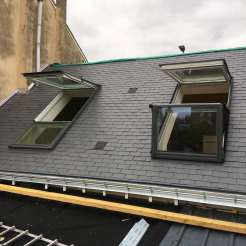 Rénovation toiture Ardoise & VELUX LE MANS