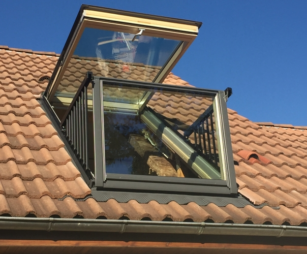 fenêtre de toit balcon velux  installation velux le mans